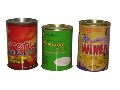 Protein Tin Containers