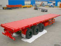 Container Trailer Tri-axle Transpotation