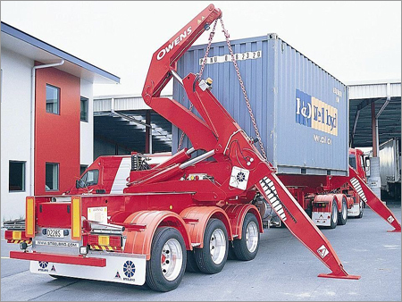 Self Loading Container Trailer