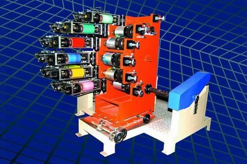 Four Colour Manual Machine