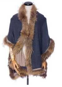 4 Side Rackoon Fur Trims