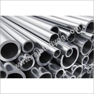 Silver Aluminium Round Pipes