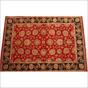 Traditional Hand Knotted Carpet