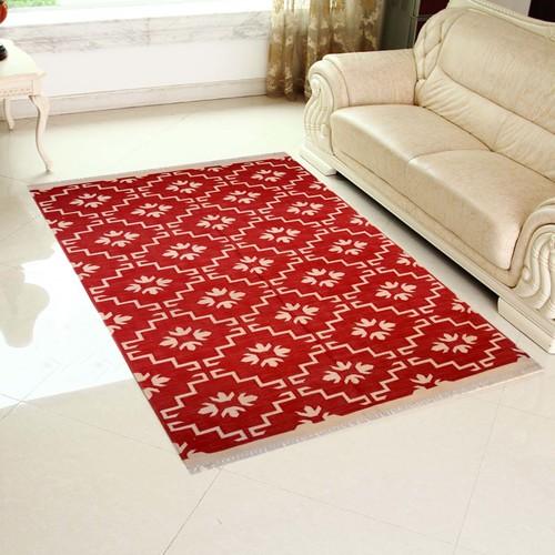 Cotton Flat Weave ,Vintage Rug,Indian Rug, Cotton Rug,Handmade Rug, Floor Rug,Home Rug