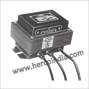 Epoxy Moulded Ignition Transformer 2 X 7 KV