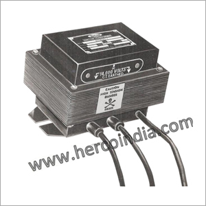 Epoxy Mould Ignition Transformer 2 X 5 KV