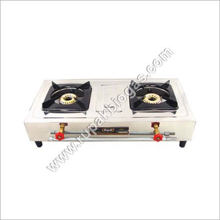 Biogas Double Burner Stove Classic