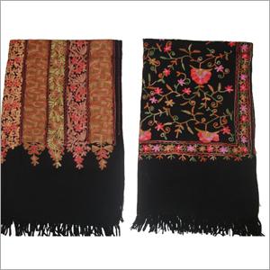 Aari Embroidered Jali Work Shawls