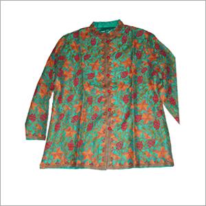 Silk Ari Hand Made Embroidery Jacket