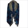 Wool Fur Collar Jamavar Coat