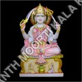 Marble Santoshi Statue