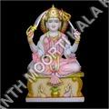 Marble Santoshi Statue