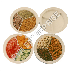 Melamine Compartment Plate