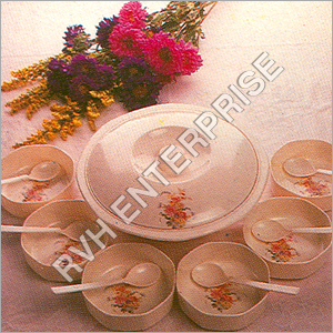 Melamine Pudding Set