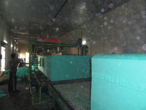 Continuous Foam Production Machine