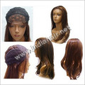 Lace Wig with Machine Weft
