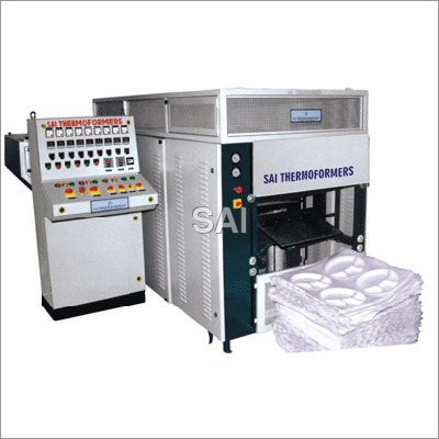 Automatic Vacuum Forming Machine with Shear Cutter