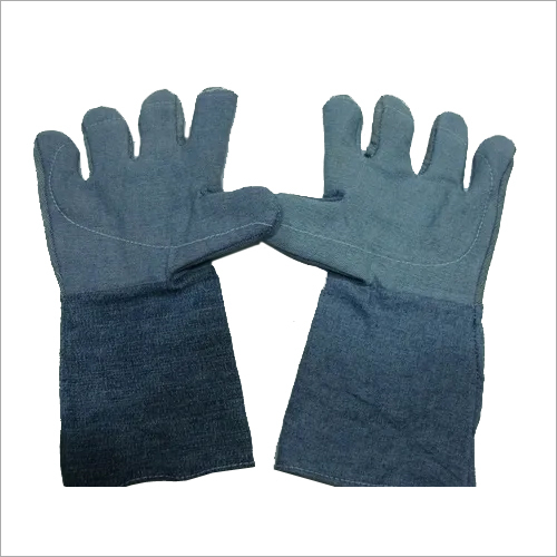 Jeans Fabric Hand Gloves