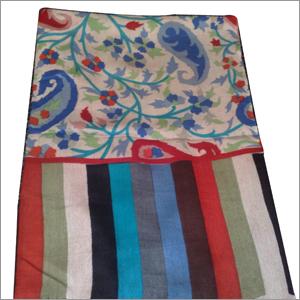 Designer Silk Wool Stole