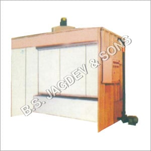 Side Draught Liquid Painting Booth