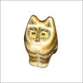 Papier Mache Cat Box