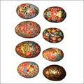 Papier Mache Decorative Easter Eggs