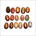 Papier Mache Easter Eggs