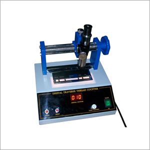 Traverse Thread Counter for fabric testing