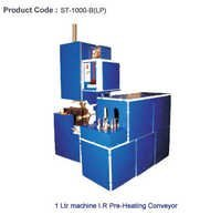 1 liter Pet Blow Moulding with Pre-Heating Conveyor