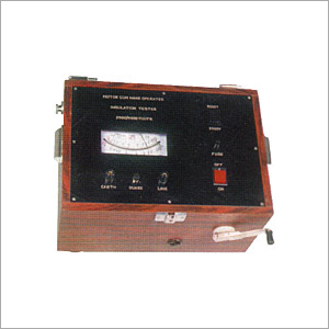 Motor Cum-Hand Operated Insulation Tester