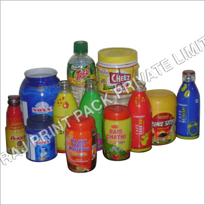 Multi Coloured PVC Shrink Labels