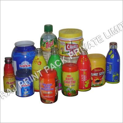 Multi Coloured PVC Shrink Labels