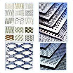 Perforated Sheet and Expanded Mesh