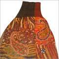 Wool Boiled Ari Embroidered Stoles