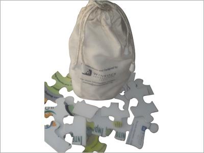 Canvas Puzzle Bag