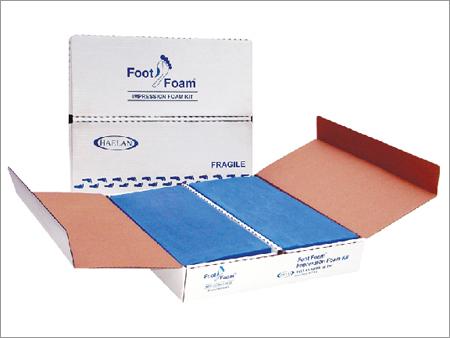 Foot Impression Box Foam