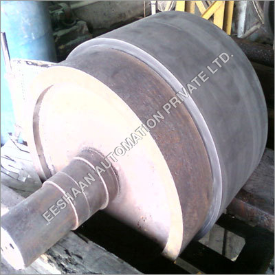 Heavy duty Rubber Coated Pulley