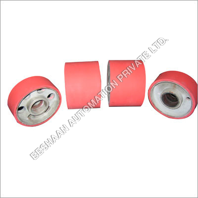 Rubber Coated Aluminum Pulleys