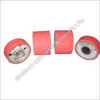 Rubber Coated Spreader Pulleys