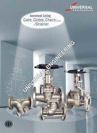 GATE, GLOBE, CHECK VALVE AND STRAINER