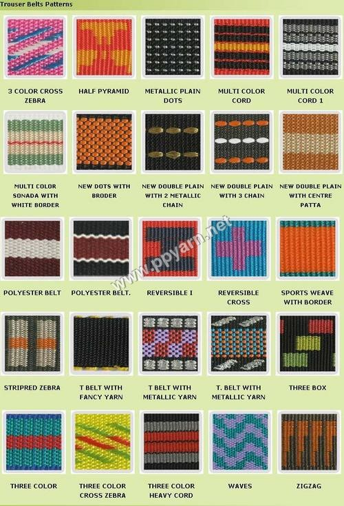 Polyester Trouser Belts