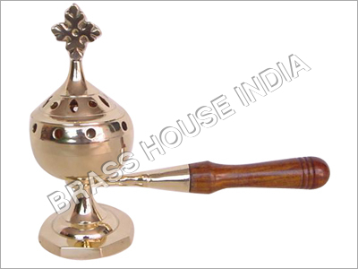 Incense Burner Wooden Handle