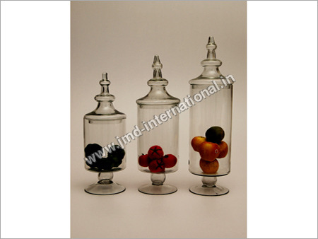 Apothecary Glass Jars