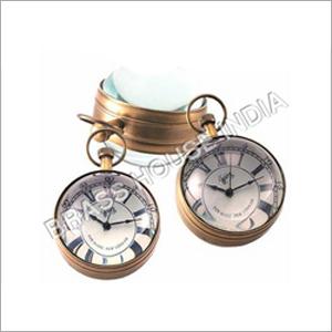 Round Clock Convex Lense