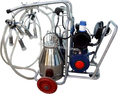 Mobile Trolley Milk Machine
