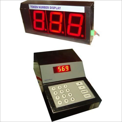 LED Token Display With Voice