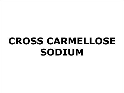 Cross Carmellose Sodium