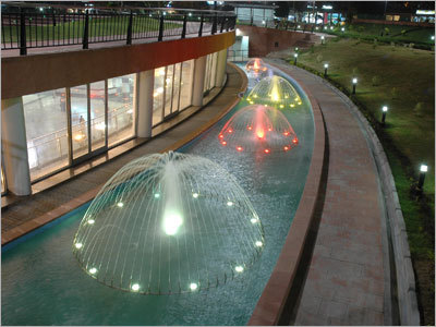 Dome Water Effect Fountains