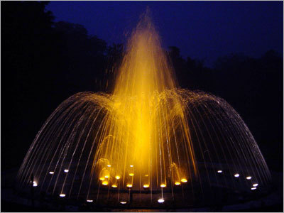 Reverse Crown Fountains
