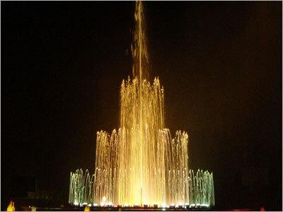 High Geyser Fountain